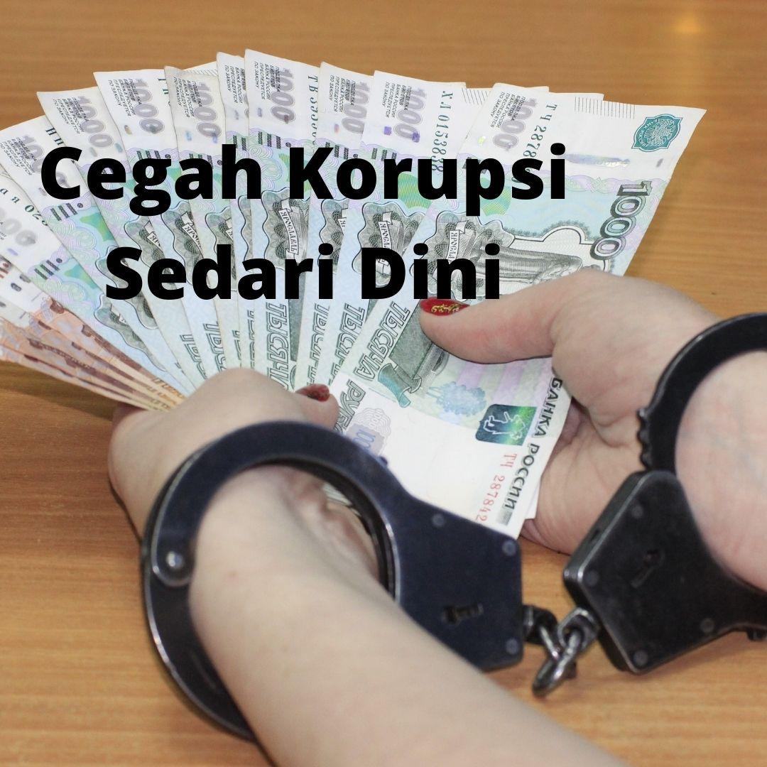 contoh slogan korupsi