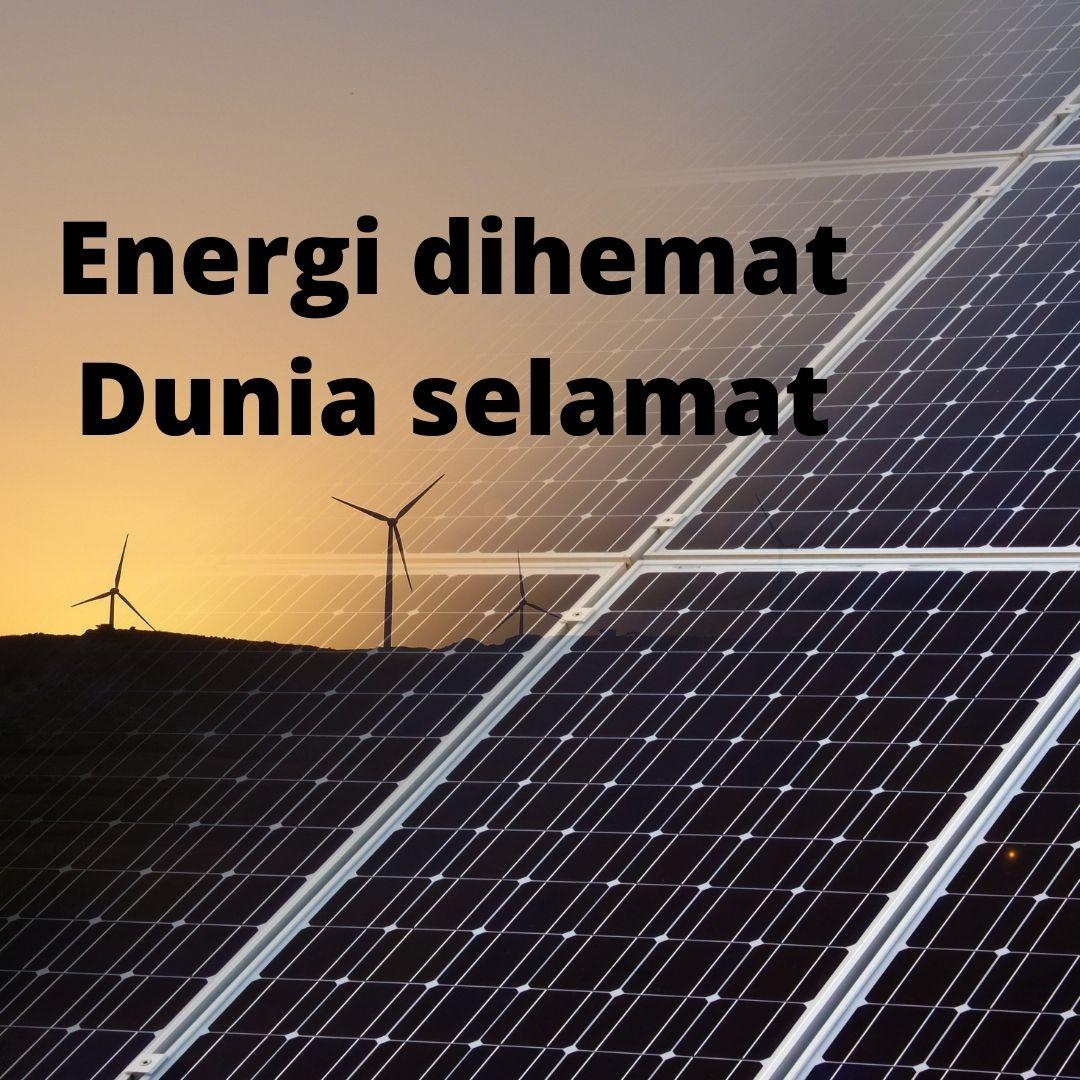 contoh slogan hemat energi